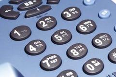 按钮电话 免版税库存照片