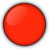 按钮红色 免版税库存照片