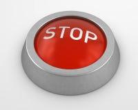 按钮终止 免版税图库摄影
