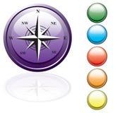 按钮被设置的行程 免版税图库摄影