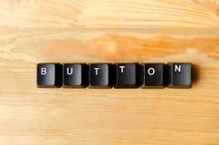按钮词 免版税库存照片