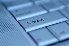 按钮货币 免版税库存照片