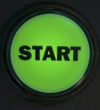按钮起始时间 免版税图库摄影