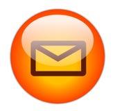按钮邮件 免版税库存图片