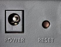 按钮重置 免版税图库摄影