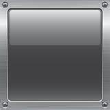按钮金属 免版税库存照片