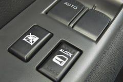 按钮锁定 免版税库存图片