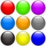 按钮 免版税库存照片