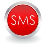 按钮sms 库存照片