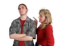 挑战做父母 免版税图库摄影