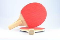 挑战的乒乓球 库存照片
