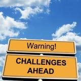 挑战 免版税库存图片