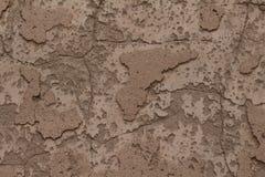 挖坑的墙壁纹理 免版税图库摄影