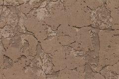 挖坑的墙壁纹理 免版税库存图片