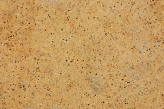 挖坑的砂岩块背景纹理 免版税库存图片