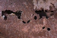 挖坑的金属3 免版税库存图片