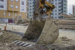 挖掘机瓢 免版税库存照片