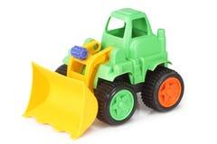 挖掘机的玩具 免版税库存照片
