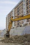 挖掘机胳膊和桶3 免版税库存照片