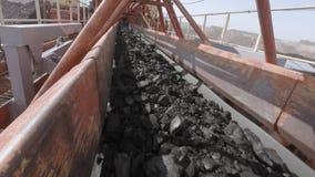 挖掘机,煤炭装货,传动机 影视素材