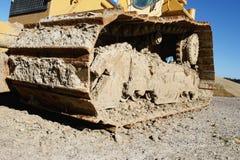 挖掘机建筑工地 免版税图库摄影