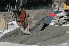 挖掘机 免版税图库摄影