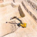 挖掘机 库存照片