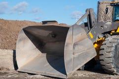 挖掘者的铁锹 免版税库存图片