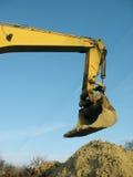 挖泥机杓子 图库摄影