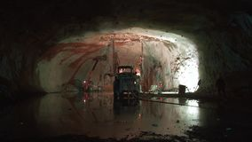 挖洞工作 工作机器 火鸡 影视素材