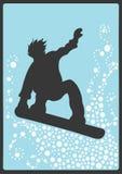 挡雪板 向量例证