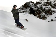 挡雪板 免版税库存照片