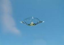 挡风玻璃岩石芯片 免版税图库摄影