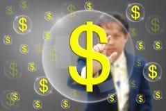 挣货币 图库摄影