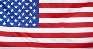 挥动的美国国旗背景圈 影视素材