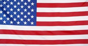挥动的美国国旗背景 股票录像