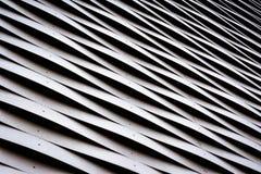 挥动的金属建筑学样式纹理特写镜头细节Aluminu 库存照片
