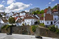 挪威。斯塔万格。 免版税库存图片