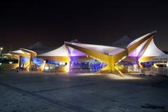 挪威亭子,商展2010年上海中国 免版税库存图片