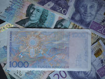 1000挪威克朗(NOK)笔记 免版税库存照片