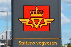 挪威公开路管理总部 免版税库存照片