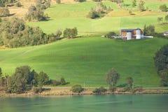 挪威农场 免版税图库摄影