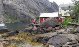 挪威夏天 免版税库存照片