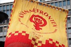 挪威女权小组Kvinnefronten 图库摄影