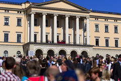 挪威宪法天和皇家 免版税库存图片