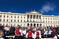 挪威宪法天 免版税库存图片