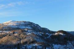 挪威山006 免版税图库摄影
