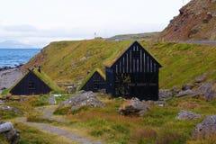 挪威房子 免版税图库摄影