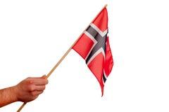 挪威标志。 库存图片