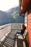 挪威横向 免版税图库摄影